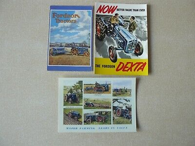 Fordson Post Cards (3 off)