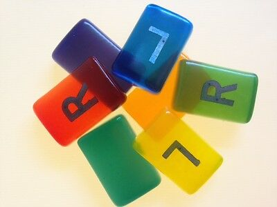 Jelly Coloured Radiography X-Ray Markers - Personalised - Pair of L & R