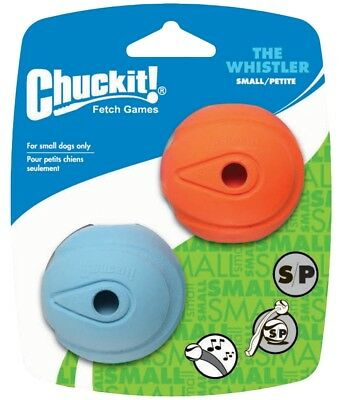 Chuckit The Whistler M 6 cm 2 Pack - Hundespielzeug