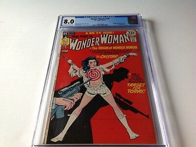 Wonder Woman 196 Cgc 8.0 Bondage Cover Cheetah App Origin Giordano Dc Comics
