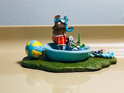 Wee Forest Folk Mouse Expo Pool Pals event special