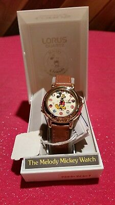 The Melody Mickey mouse LORUS quartz watch never worn brand new with tags