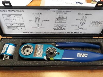 ratchet crimping tool set M22520/1-01 AF8 MADE BY DANIELS (DMC)