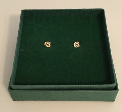 9ct Gold Knot Stud Earings ( RRP £89.00)