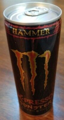 RARE Monster Energy Hammer X-PRESSO Can - DISCONTINUED (NEW) 2009
