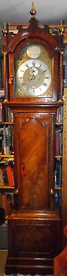 Antique 8 Day Longcase/Grandfather Clock William Hayler, Chatham