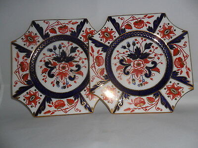 "Pr. WILEMAN JAPAN SQUARE 7"" PLATES pat.3476"