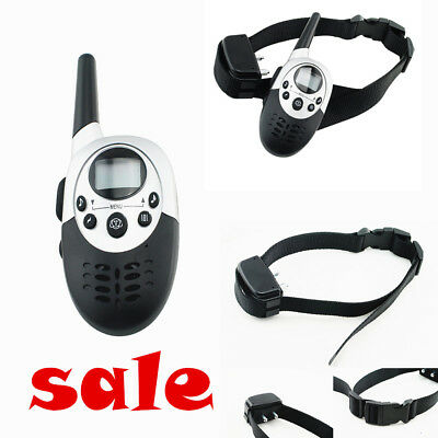 2018 FDA Waterproof-Remote Rechargeable LCD Electric Shock Dog Training Collar