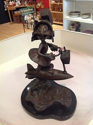 "VERY RARE large Vought Looney Tunes, Bugs Bunny Bronze Statue ""Special Delivery"""