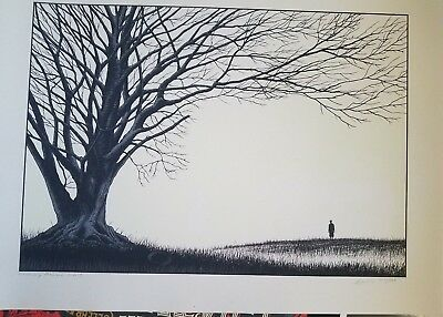 Memory Remains art print by Dan McCarthy Signed and Numbered Glows in the dark