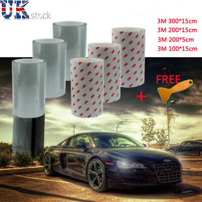 3M Helicopter Car Bike Frame Protection Tape Sticker Clear Vinyl Film 1m X 15cm