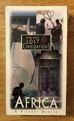 "NEW Time Life Lost Civilizations VHS ""Africa: A History Denied"" Zimbabwe Swahili"