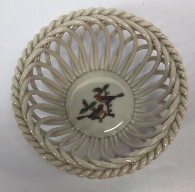 Porcelain Basket Basket Bowl With Grape Ernst Bohne H14cm 9997307 Decorative Arts Antiques