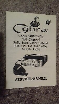 C.b.service Manual For Cobra 148