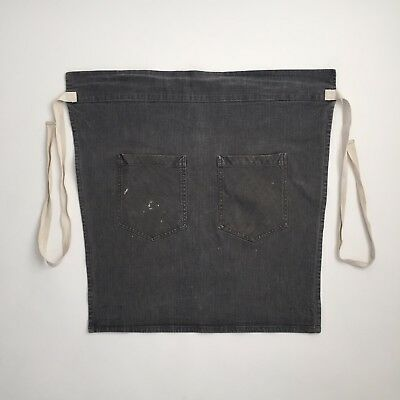 Hedley Bennett Gray Food Service Kitchen Cafe Apron Los Angeles