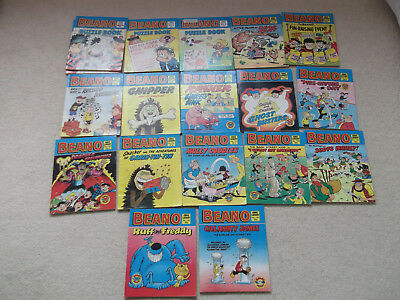 Bundle of 18 Beano Puzzle/Comic Books