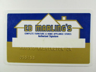 Topeka, Kansas - Ed Marling's Furniture & Appliance Stores - Credit Charge Card