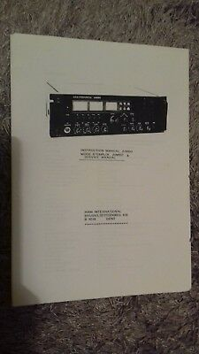 C.B Radio service manual for Ham International Jumbo