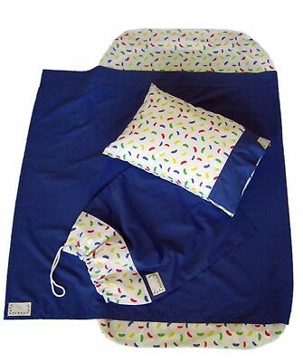 JLYBNZ Kindy Sheets - Blueberry colour (Sheet Set + Free Pillow Only)