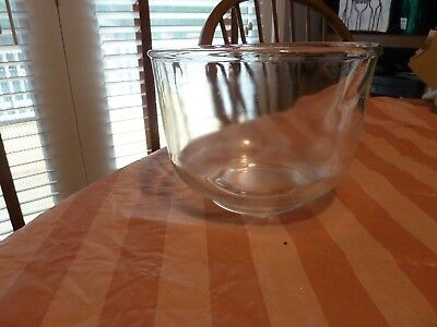 Vtg Oster Regency Kitchen Center Replacement Small Pour Spout Glass Mixing Bowl