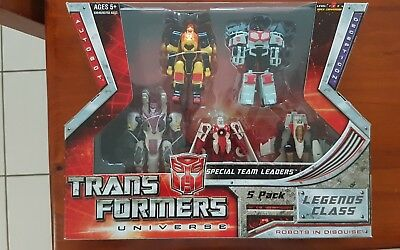 Transformers Universe Legends Class 5 pack
