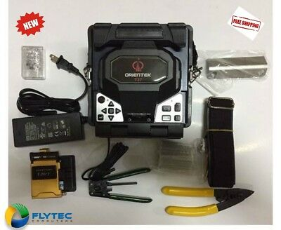 Orientek T37 Fiber Optic Fusion Splicer Fusion Splicing Machine (Ships from US)