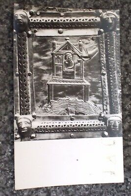 Noah And The Dove Of  Peace  Bronze Portal  Verona    Photo Postcard Vintage Vgc