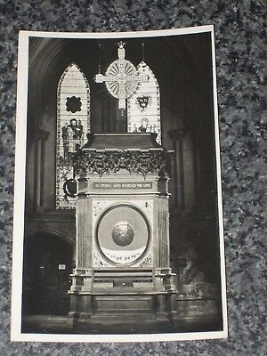 R.a.f. Memorial  York Minster    Photo  Postcard Vintage   Vgc