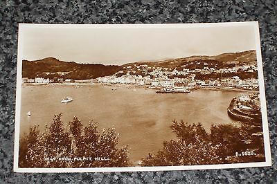 Oban From Pulpit Hill      Photo Postcard Vintage  Unposted  Vgc