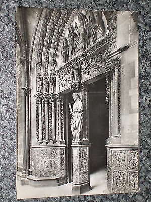 Paris Sainte Chapelle Du Palais Xiii    Photo Postcard Vintage Rp Unposted Vgc