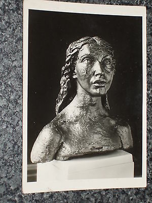 Sir Jacob Epstein  Kathleen 1921  Tate   Photo Postcard Vintage Rp Unposted Vgc