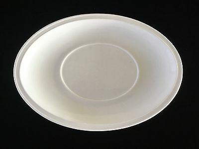 """Antique Charles Meakin White English Ironstone Oval Serving Platter 15"""""""