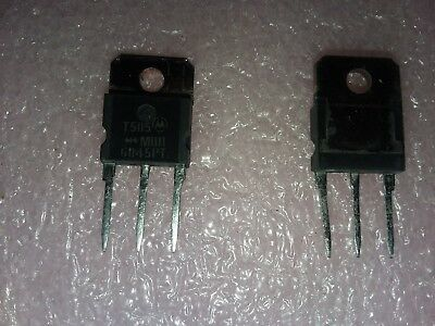 3x MOTOROLA MBR6045PT 45V 60A SWITCHMODE SCHOTTKY POWER RECTIFIER 3 PIN TO-218