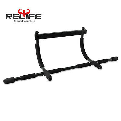 Relife Pull Up Bar Chin Up Bar For Body Workout Doorway Iron Multi-function Gym