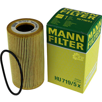 Genuine Mann Filter Oil Filter Oil Filter HU 719/5 x Oil Filter