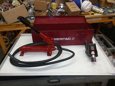 enerpac Hydraulic cable and wire bender