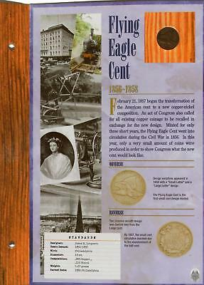 1856 - 1858 Flying Eagle Cent | Commemorative Gallery | Panel | NR