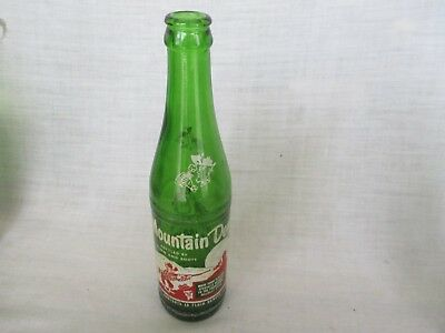 1950s Name Mountain Dew Hillbilly Soda Bottle BOTTLED BY  MOON and BOOTS  10 oz.