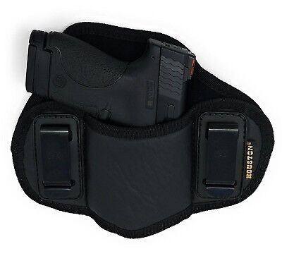 Soft IWB Dual Clip Pancake Gun Holster for Smith & Wesson M&P Shield 9mm/40 M2.0