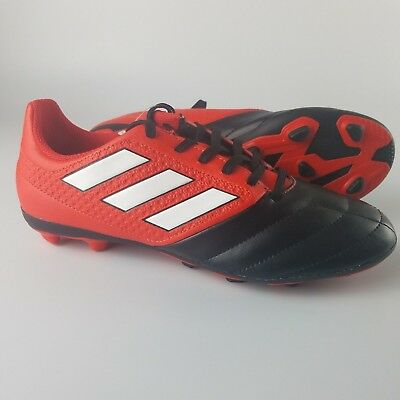 061586450 Adidas Ace 17.4 FxG Jr Soccer Cleats Youth Size 5Y Red White Black BB5591  NEW