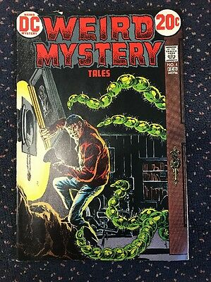 Weird Mystery Tales Dc 1973 Comic