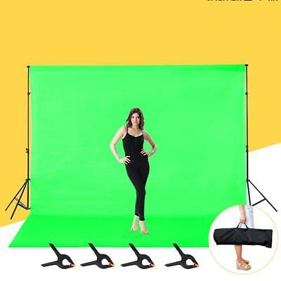 2x3m Photography Background Backdrop Light Stand Aluminum Support Studio Kit