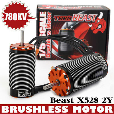 SKYRC Beast X528 2Y 780KV Brushless Motor für 1:5 RC car
