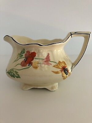 Beautiful Floral Myott Milk Jug In Lovely Condition