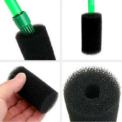 Aquarium Fish Tank Black Cotton Filter Foam Sponge Pond Protector