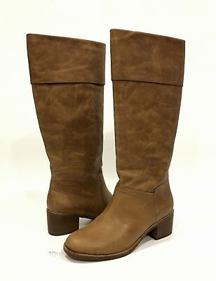 3947b7604193 Ugg 1017469 Carlin Knee High Boots Taupe Brown Leather -Us Size 8.5 -New