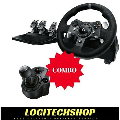 Logitech G920 Driving Force Wheel for Xbox One & PC + Shifter (Free Delivery)