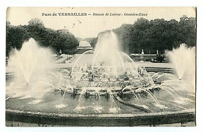CPA-Carte postale-  France - Versailles - Fontaines - 1916 (CP258)
