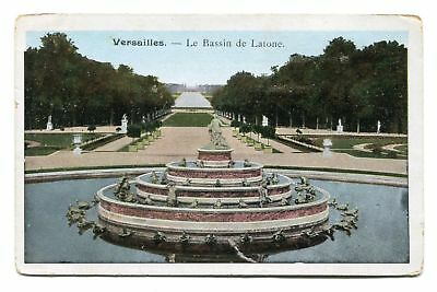 CPA-Lot de 2 cartes postales - France - Versailles - Fontaines (CP259)