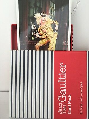 The Fashion World Of Jean Paul Gautier - Ngv Boxed Set Postcards